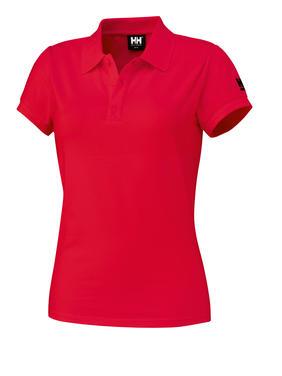 79121 Helly Hansen Women Polo Tee -Rot