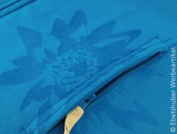 Fleece sweater met lasergravering