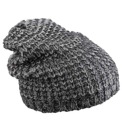 Fancy Winter Hat (carbon-melange/zilver)